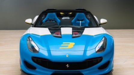 SP3JC, la Ferrari esclusiva che richiama le spider anni '50 e '60