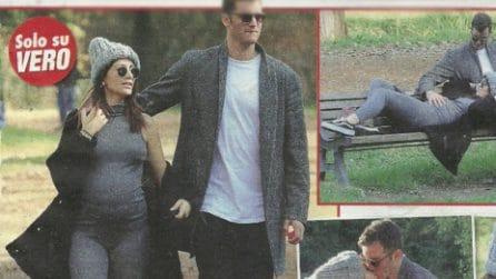 Giorgia Lucini incinta di Federico Loschi, le foto della coppia