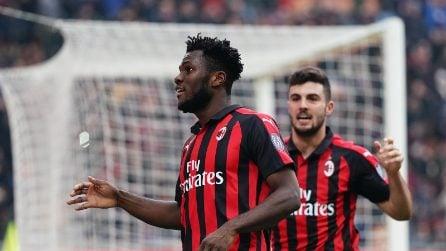 Serie A 2018-2019, le immagini di Milan-Parma