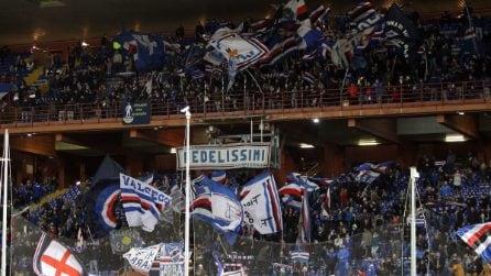 Coppa Italia, le immagini di Sampdoria-Spal