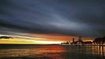 Bari, l'alba di San Nicola è mozzafiato
