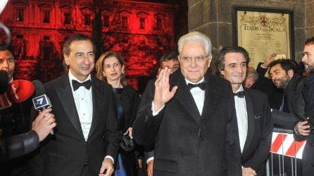 Milano, tante celebrità ed autorità alla Prima della Scala