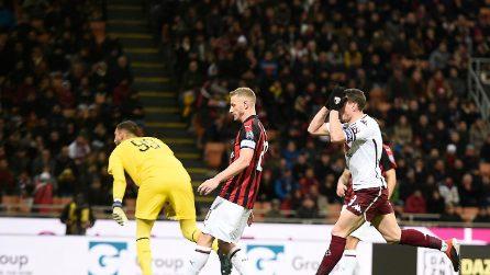 Serie A 2018-2019, le immagini di Milan-Torino