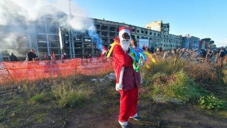 Sgombero ex Penicillina: gli ultimi occupanti lasciano il ghetto