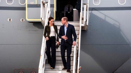 """Kate Middleton di nuovo in pantaloni: ecco il look """"da uomo"""""""