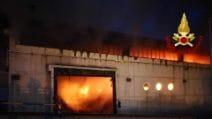 Roma, incendio al Tmb Salario: in fiamme capannone di rifiuti