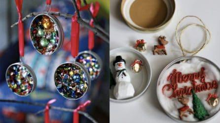 Non buttate via i tappi dei barattoli: idee fantastiche per il Natale