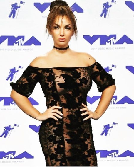 Sul red carpet degli Mtv VMA's 2017