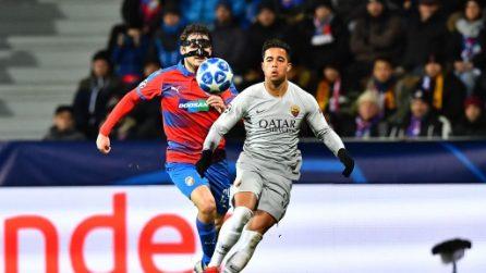 Champions League, le immagini di Viktoria Plzen-Roma