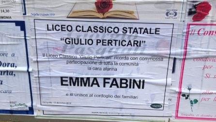 Strage discoteca, i funerali di Emma Fabini