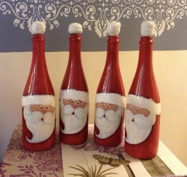 Credit: http://diytotry.com/wine-bottle-christmas-crafts/