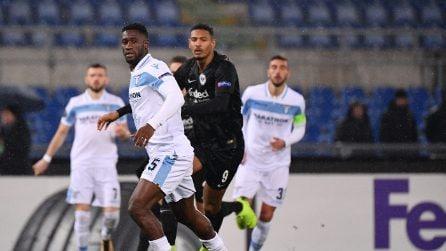 Europa League 2018/2019, le immagini di Lazio-Eintracht