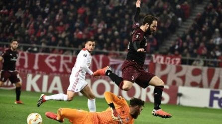 Europa League, le immagini di Olympiacos-Milan