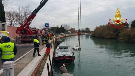 Venezia, auto finisce nell'acqua: morta conducente