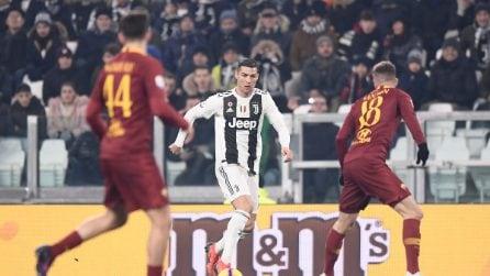 Serie A, le immagini più belle di Juventus-Roma