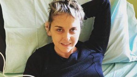 La Vigilia di Natale 2018 di Nadia Toffa in ospedale