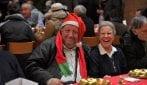 Roma, il pranzo di Natale per i poveri