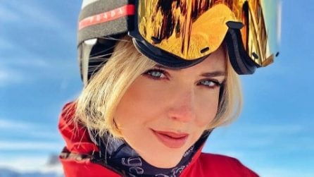 Chiara Ferragni, i look per la vacanza di Natale in montagna