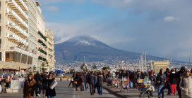 Gennaio 2019: il Vesuvio pieno di neve