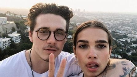 Le foto di Brooklyn Beckham e Hana Cross