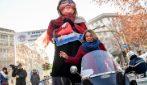 La Befana benefica dei motociclisti a Milano: le immagini della 52esima edizione