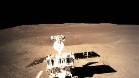 Lato 'oscuro' della Luna: le prime immagini dei cinesi