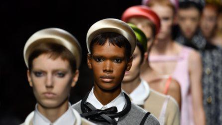 Frangia mini, il trend capelli 2019