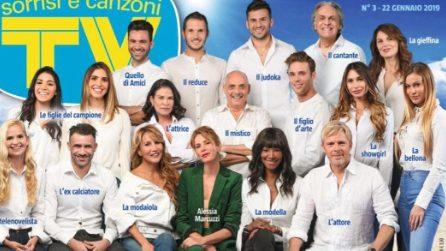 Il cast dell'Isola dei famosi 2019