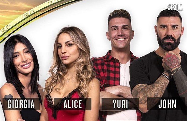 Solo uno di loro sarà proclamato concorrente ufficiale: sono Giorgia Venturni, Alice Fabbrica, Yuri Rambaldi e John Vitale