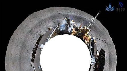 Cosa c'è sul lato 'oscuro' della Luna: immagini da Chang'e-4