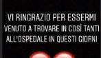 """L'annuncio di Francesco Chiofalo: """"Non sono più in ospedale"""""""