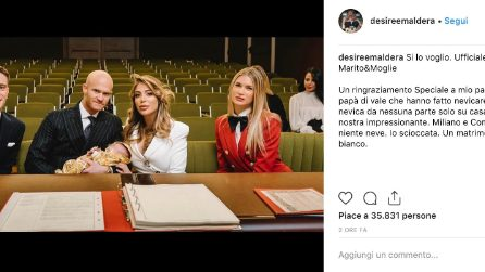 Le foto del matrimonio di Desirée Maldera e Valeriano Rampezzotti