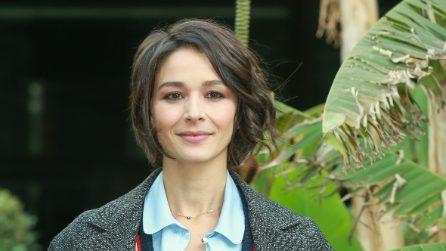 Nicole Grimaudo in versione lady alla presentazione del film