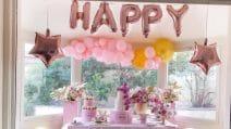 La festa di compleanno di Costanza Caracciolo