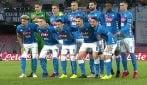 Napoli-Lazio, Callejon come Cristiano Ronaldo durante la foto