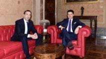 Milano, incontro tra il presidente del Consiglio Giuseppe Conte e il sindaco Sala