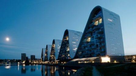 Gli appartamenti ad onde: il progetto residenziale più innovativo degli ultimi tempi