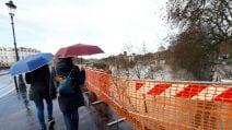 Piena del Tevere: chiuso l'accesso alle banchine, fiume sorvegliato speciale
