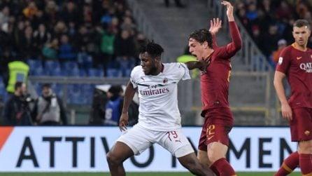 Serie A 2018/2019, le immagini di Roma-Milan
