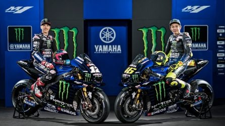 MotoGP 2019, le foto della nuova Yamaha di Valentino Rossi e Maverick Vinales