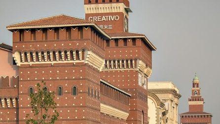 C'è una Milano in Cina: ecco il centro commerciale con la Galleria e il Castello Sforzesco