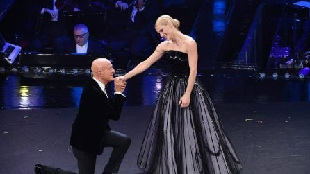 Sanremo 2019: l'abito di Michelle Hunziker per la seconda serata