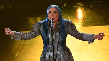 Sanremo 2019: i vestiti di Loredana Bertè