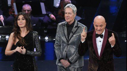 Le giacche di Claudio Bisio al festival di Sanremo 2019