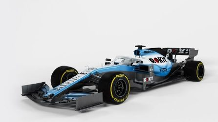 F1, la nuova Williams di Kubica e Russel