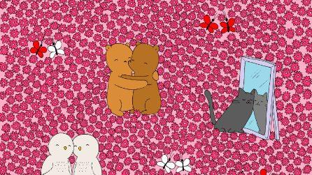 In questa foto c'è da trovare un piccolo cuore, il rompicapo per San Valentino