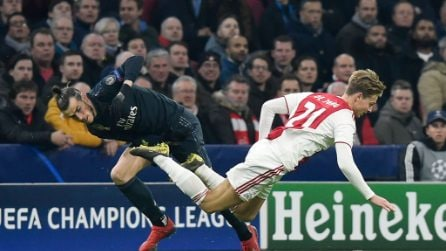 Champions League, le immagini di Ajax-Real Madrid