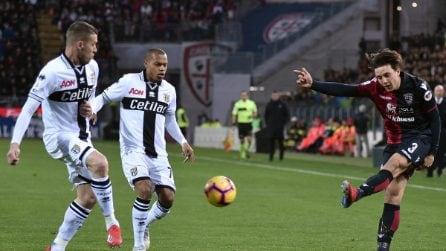 Serie A, le immagini più belle di Cagliari-Parma