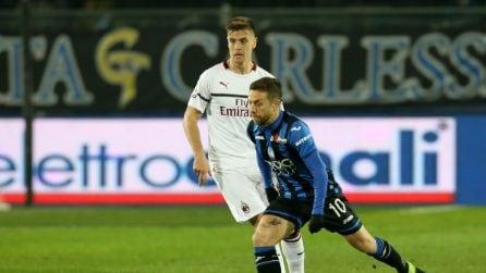 Serie A, le immagini più belle di Atalanta-Milan