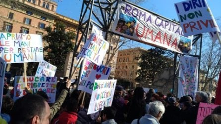 """Grande festa antirazzista a piazza Vittorio: """"Roma Capitale Umana"""""""